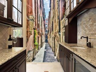 Paredes y pisos de estilo moderno por Affreschi & Affreschi