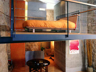 Industrial style bedroom by Fabio Barilari Architetti Industrial