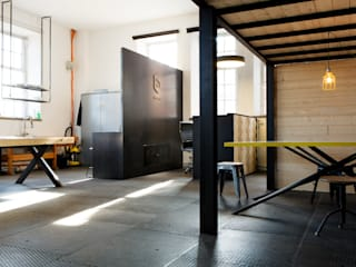 Office buildings by BESPOKE GmbH // Interior Design & Production, Industrial