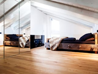 Bedroom by BESPOKE GmbH // Interior Design & Production, Rustic
