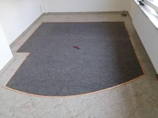 Spannteppich in Granit Wohnzimmer von Raumausstattung Jens Clauß