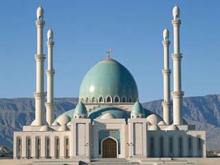 MOSCHEA GUEOK DEPE / Turkmenistan: Case in stile in stile Mediterraneo di decor srl