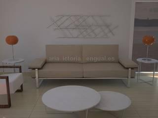 Ambiente con diseño, moderno y con mobiliario de autor. Comedores de estilo ecléctico de MUMARQ ARQUITECTURA E INTERIORISMO Ecléctico