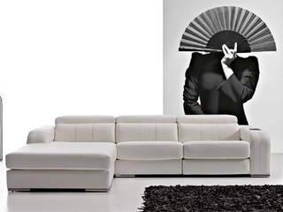 Projekty,  Salon zaprojektowane przez Arte Habitat Interiores