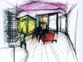 Mansarda Di Paolo: Case in stile  di melaragni+campagna archimmagine studio
