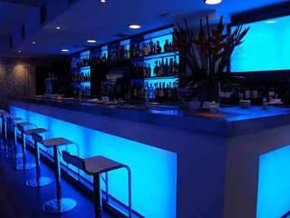 Restaurant - Lounge Sabor Gastronomía de estilo moderno de FrAncisco SilvÁn - Arquitectura de Interior Moderno