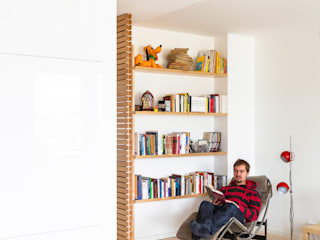 Maurizio Giovannoni Studio Ruang Keluarga Gaya Skandinavia