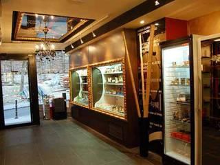 Plaisir Gourmet Espacios comerciales de estilo ecléctico de FrAncisco SilvÁn - Arquitectura de Interior Ecléctico