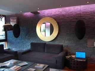 Vivienda en Urbanización Quinta de los Molinos Salones de estilo moderno de FrAncisco SilvÁn - Arquitectura de Interior Moderno