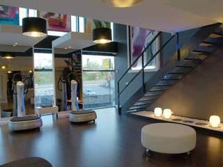 Centro Power Plate Madrid Espacios comerciales de estilo moderno de FrAncisco SilvÁn - Arquitectura de Interior Moderno