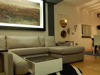 Vivienda en Segovia Salones de estilo moderno de FrAncisco SilvÁn - Arquitectura de Interior Moderno