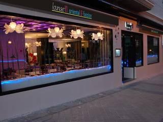 Restaurante Asiático Lounge Yi Gastronomía de estilo asiático de FrAncisco SilvÁn - Arquitectura de Interior Asiático
