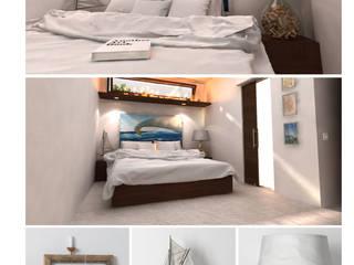 CASA VACANZE Camera da letto in stile mediterraneo di maurococco.it Mediterraneo