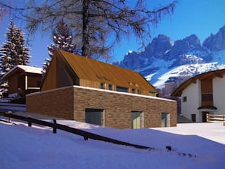 Rustic style house by maurizio pappalardo romina fava Rustic