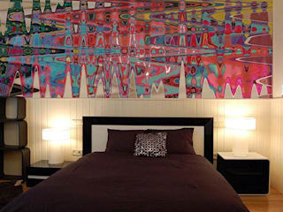 Dormitorio de adolescente de FrAncisco SilvÁn - Arquitectura de Interior Moderno