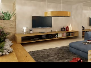 Modern Living Room by maurococco.it Modern