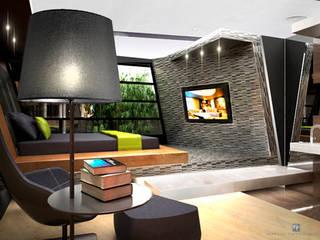 Multimedia-Raum von MANUEL TORRES DESIGN