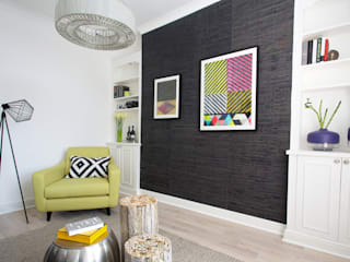 Living room: modern Living room by Cassidy Hughes Interior Design