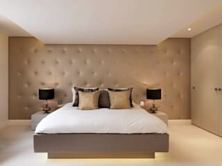 Buckland Crescent Bedroom by Living in Space