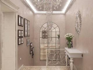 經典風格的走廊,走廊和樓梯 根據 Гурьянова Наталья 古典風