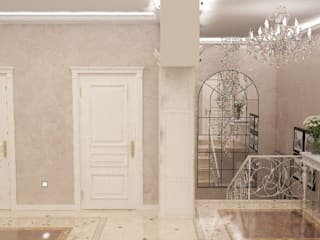 Classic style corridor, hallway and stairs by Гурьянова Наталья Classic