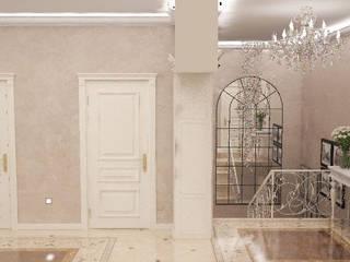 Гурьянова Наталья Pasillos, vestíbulos y escaleras de estilo clásico