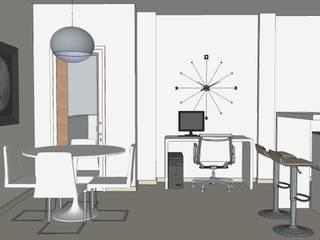 Posibilidades y realidad de una reforma en una pequeño apartamento en Torrevieja. Comedores de estilo ecléctico de MUMARQ ARQUITECTURA E INTERIORISMO Ecléctico