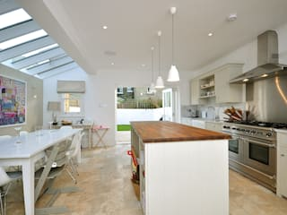 Fulham 1 MDSX Contractors Ltd Modern kitchen