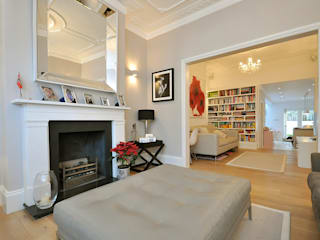 Fulham 1 Modern living room by MDSX Contractors Ltd Modern