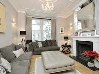 Fulham 1 MDSX Contractors Ltd Salon moderne