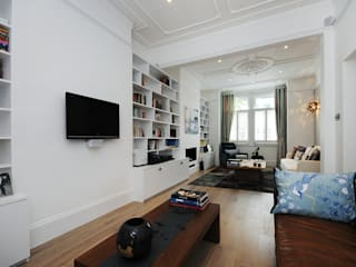 Fulham 2 Modern Living Room by MDSX Contractors Ltd Modern
