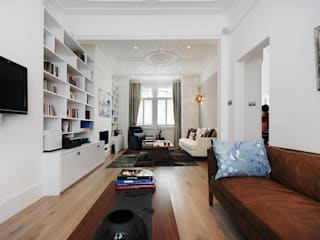 Fulham 2 MDSX Contractors Ltd Livings modernos: Ideas, imágenes y decoración