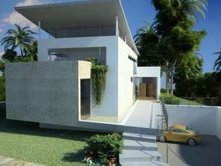 Casa en Brasil: Casas de estilo moderno de Alia B Designs