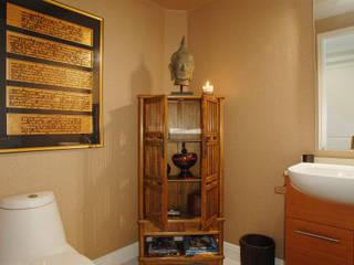 Palma de Mallorca Home Lewis & Co 現代浴室設計點子、靈感&圖片