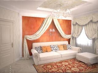Classic style bedroom by Гурьянова Наталья Classic