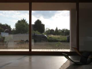 haus S, ingolstadt Moderne Wohnzimmer von architekturbüro axel baudendistel Modern