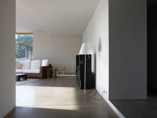 architekturbüro axel baudendistel Ruang Keluarga Modern