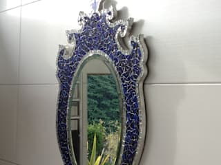 NEW ZEALAND MIRROR:  de estilo  de Martin Brown Mosaics