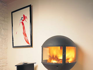 Edofocus Fireplace de Diligence International Ltd Moderno