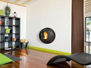 Emifocus Fireplace de Diligence International Ltd Moderno