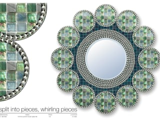 MIRROR COLLECTION 2013 de Martin Brown Mosaics Moderno