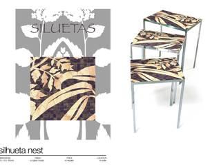 Comedor de estilo  por Martin Brown Mosaics