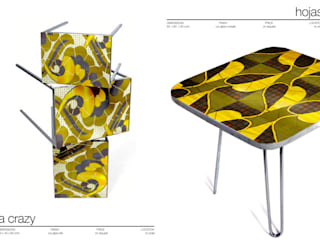 NEST AND SIDE TABLES:  de estilo  de Martin Brown Mosaics