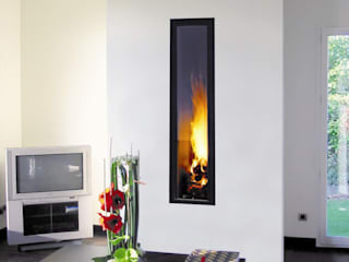 Ifocus Fireplace par Diligence International Ltd Moderne