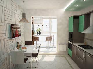 Modern Kitchen by Гурьянова Наталья Modern