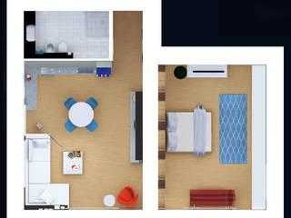 Appartamento privato - Bilocale di Marco D'Andrea Architettura Interior Design
