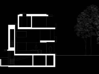 haus T, köln: modern  von architekturbüro axel baudendistel ,Modern