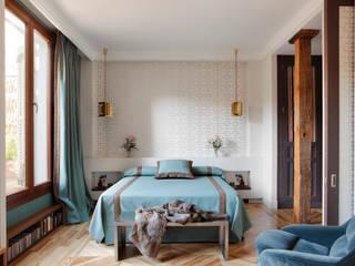 Modern style bedroom by Ines Benavides Modern