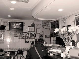 reforma de bar:  de estilo  de vaquerizoarquitectos
