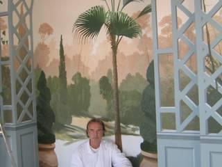 Wandmalerei im Wintergarten von Illusionen mit Farbe Klassisch